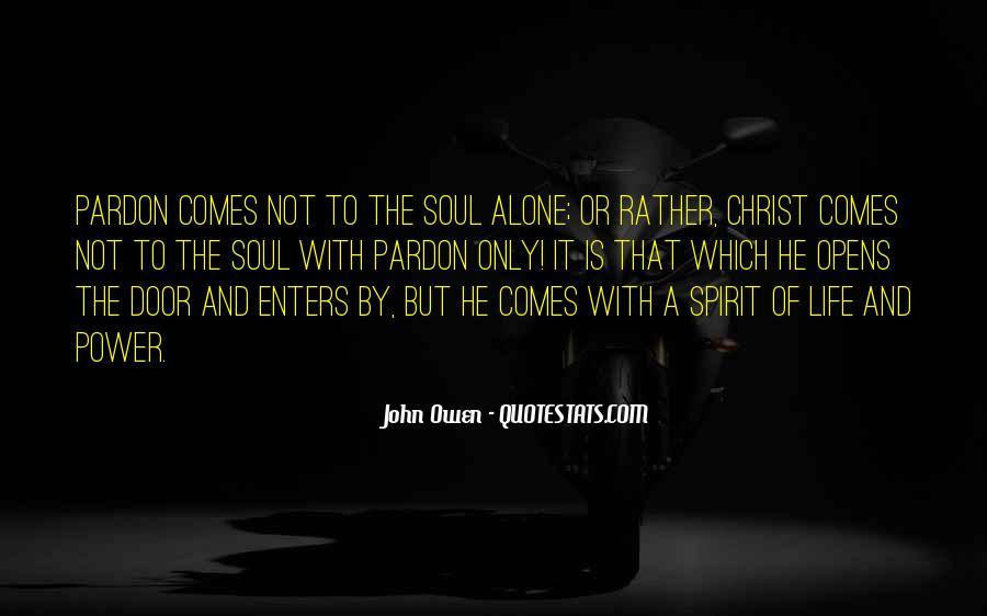 Spirit Of Life Quotes #149373