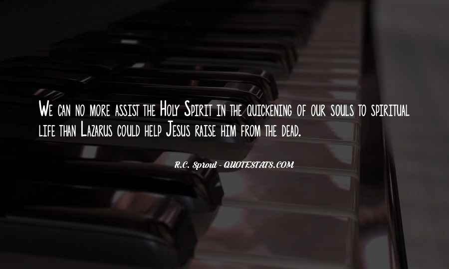 Spirit Of Life Quotes #150130
