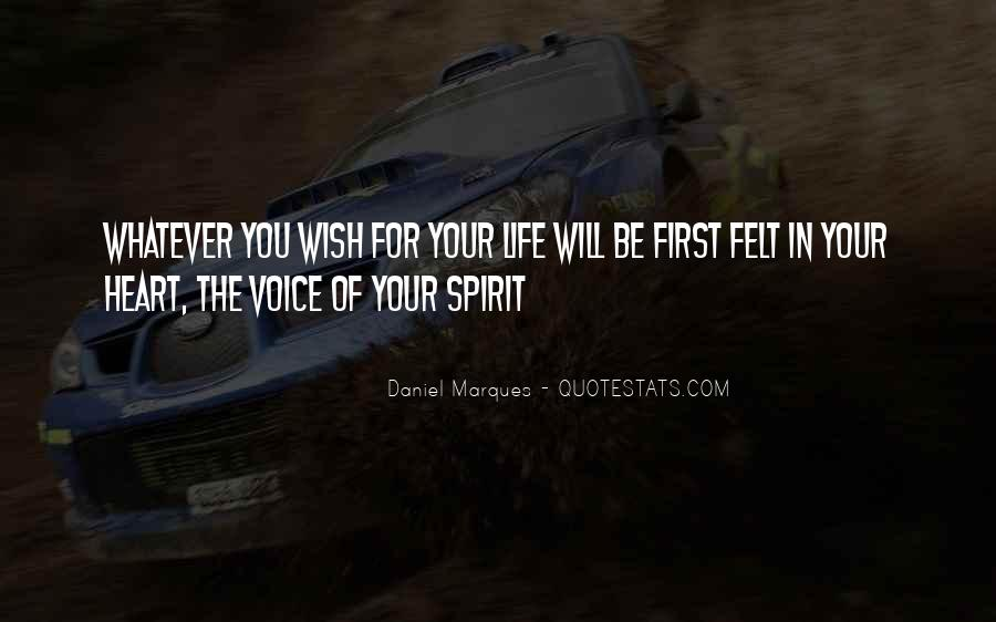 Spirit Of Life Quotes #165666