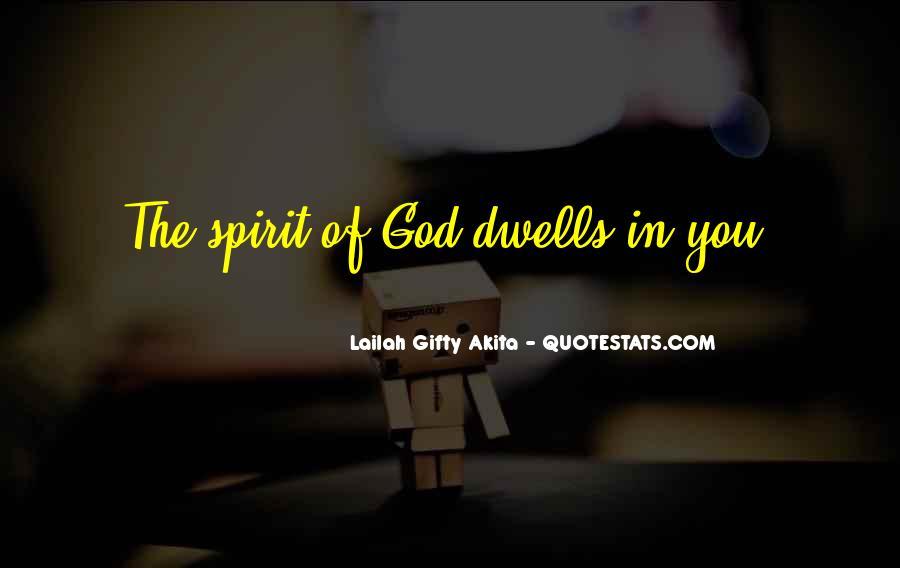 Spirit Of Life Quotes #179053