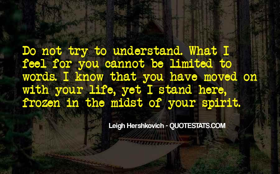 Spirit Of Life Quotes #183905