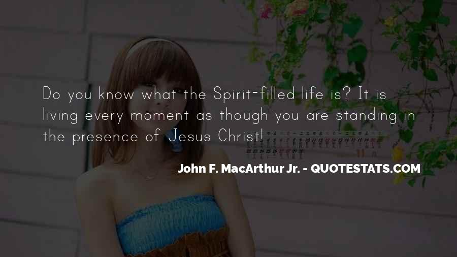 Spirit Of Life Quotes #20188