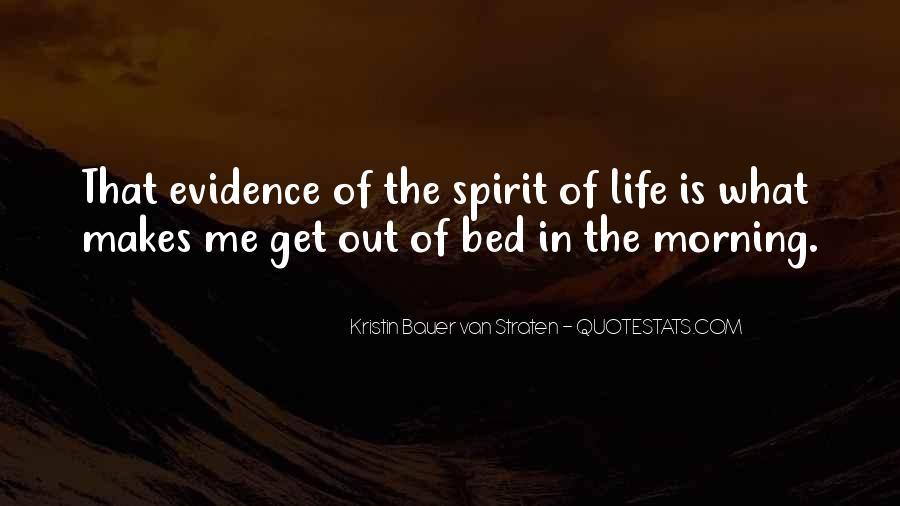 Spirit Of Life Quotes #23212