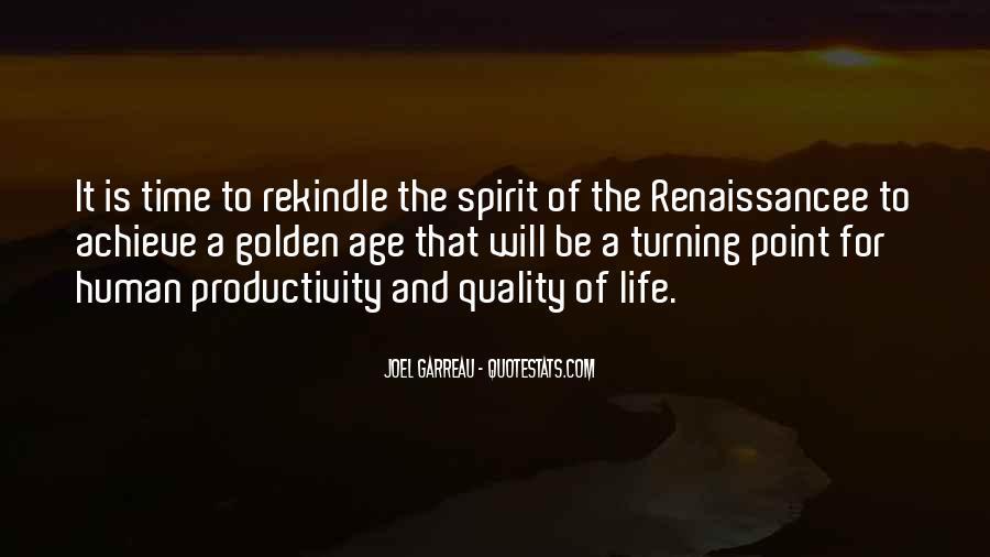 Spirit Of Life Quotes #43988