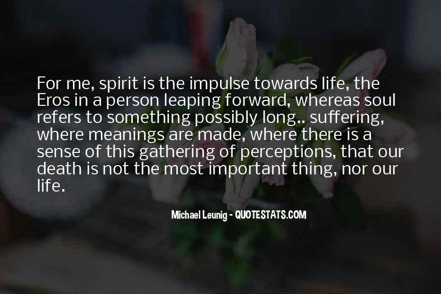 Spirit Of Life Quotes #54466