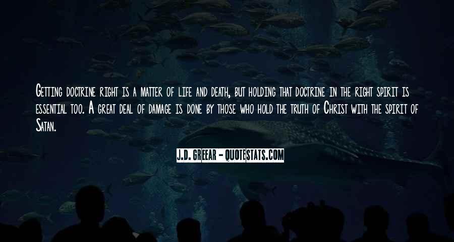 Spirit Of Life Quotes #57478