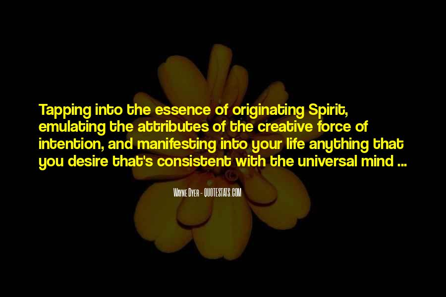 Spirit Of Life Quotes #71425