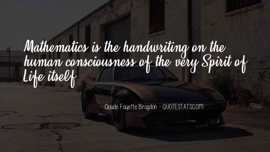 Spirit Of Life Quotes #9470