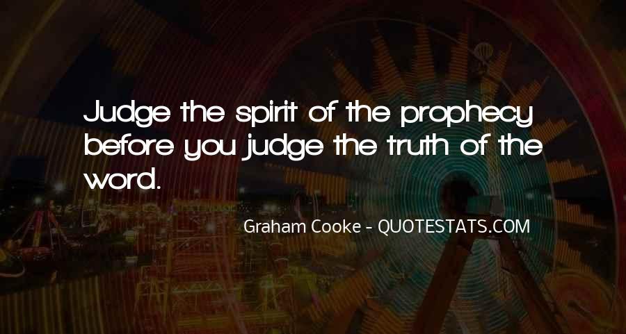 Spirit Of Prophecy Quotes #1196520