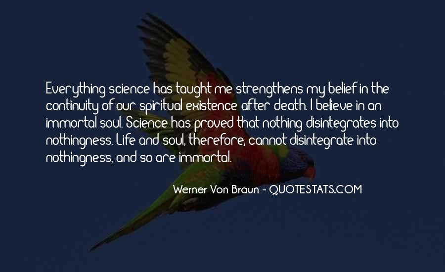 Spirit Science Quotes #107482