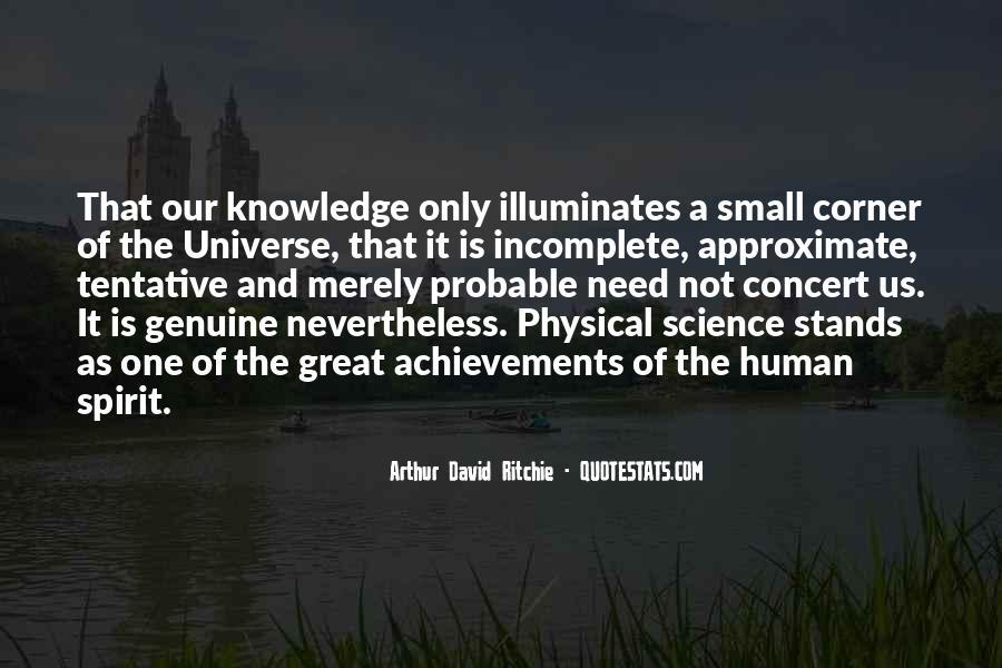 Spirit Science Quotes #1302752