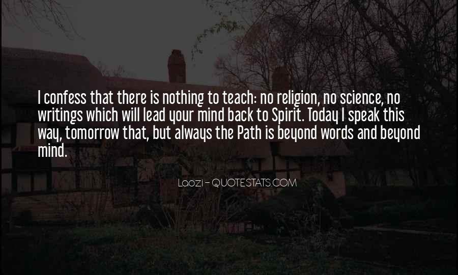 Spirit Science Quotes #1444380