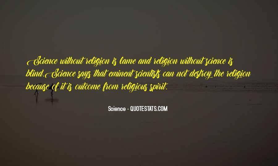 Spirit Science Quotes #641167