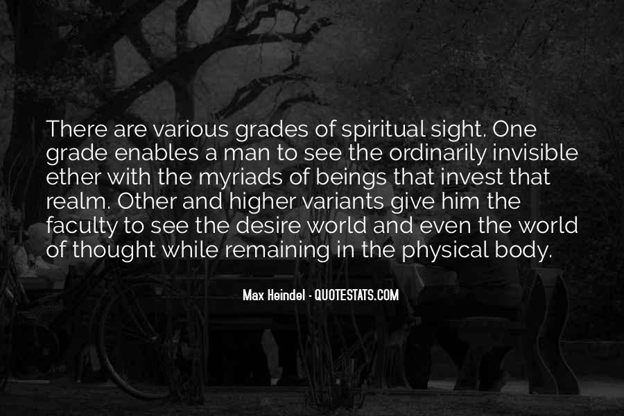 Spiritual And Physical Quotes #101681
