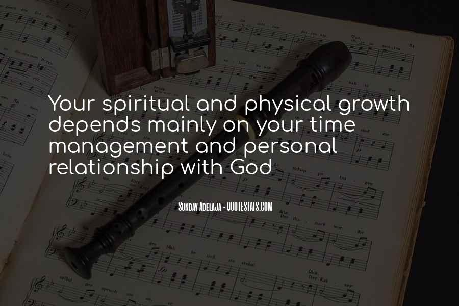 Spiritual And Physical Quotes #176989