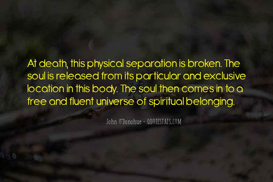 Spiritual And Physical Quotes #49742