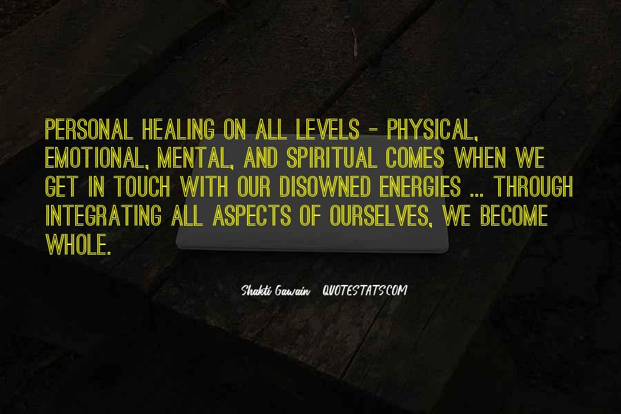 Spiritual And Physical Quotes #525212
