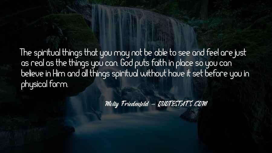 Spiritual And Physical Quotes #534957