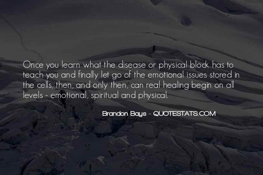 Spiritual And Physical Quotes #608769