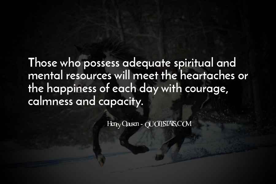 Spiritual Heartaches Quotes #1166966