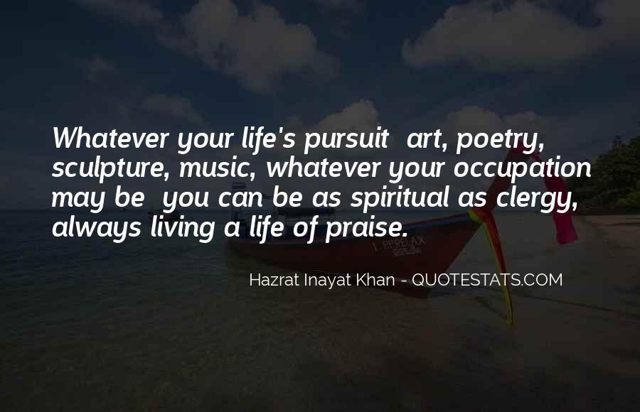 Spiritual Pursuit Quotes #1195271