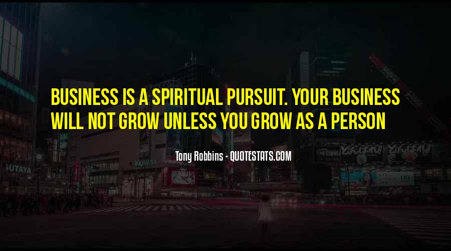 Spiritual Pursuit Quotes #551526