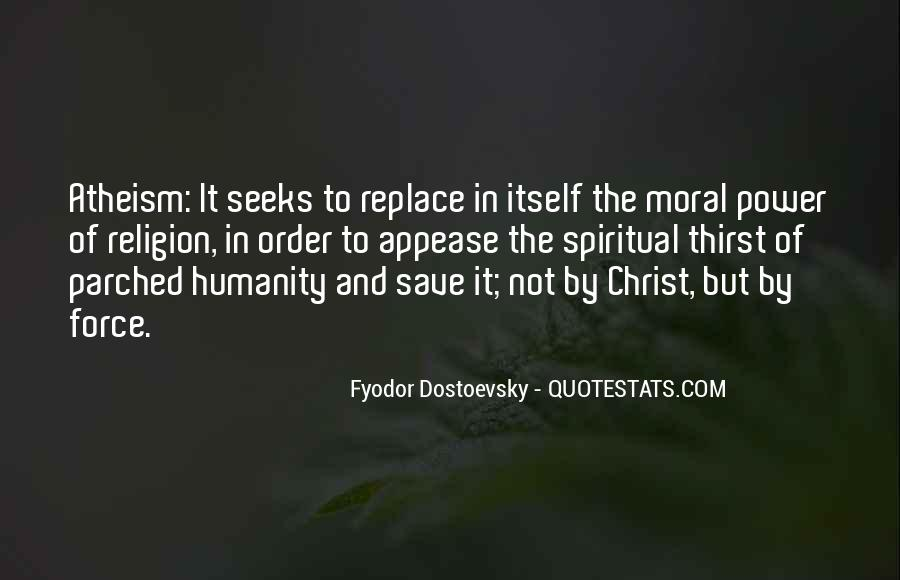 Spiritual Thirst Quotes #1033250