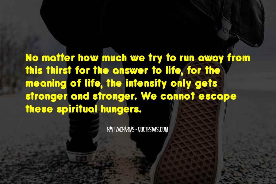 Spiritual Thirst Quotes #1325629