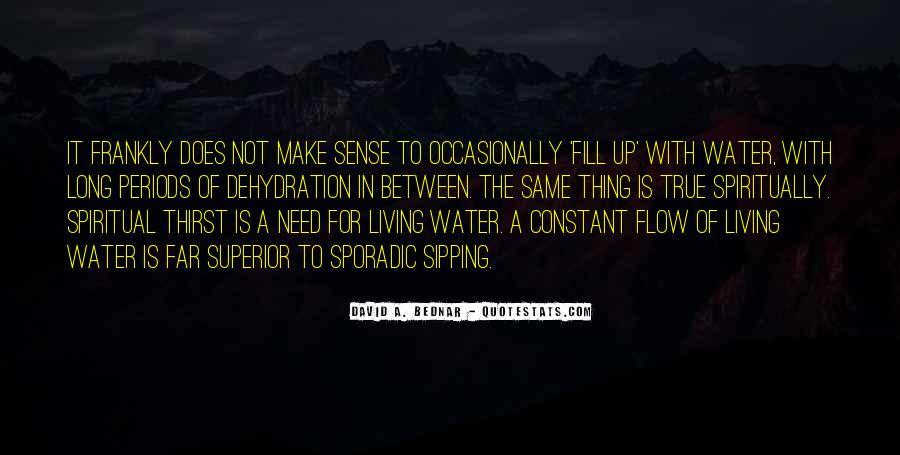 Spiritual Thirst Quotes #930787