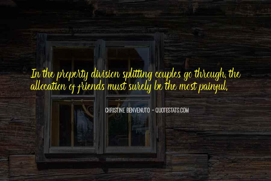 Splitting Friendship Quotes #852042