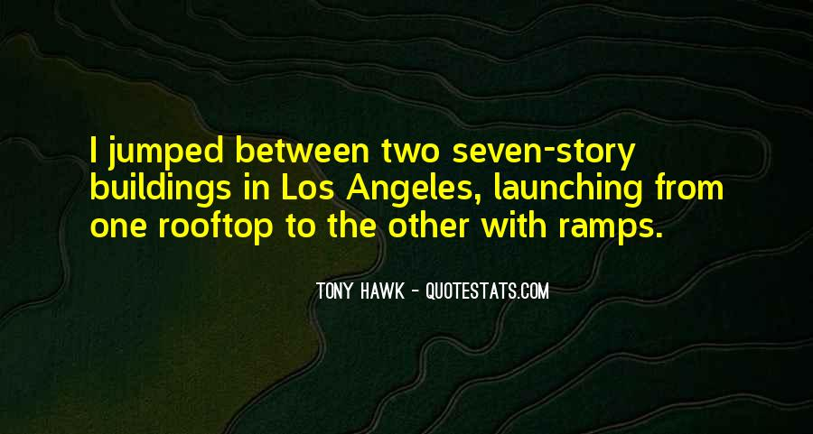 Quotes About Tony Hawk #485238