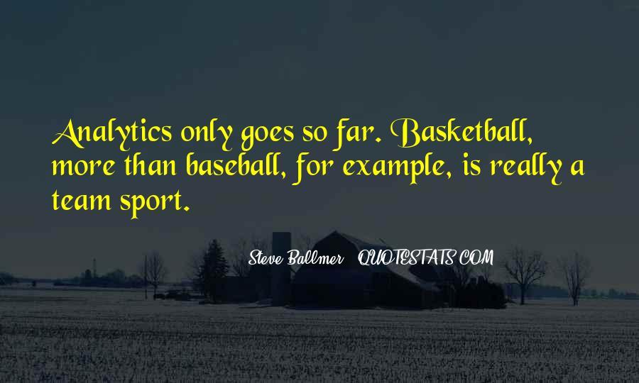 Sports Analytics Quotes #1702685