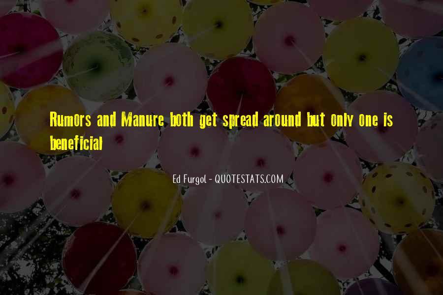 Spread Rumors Quotes #1002134