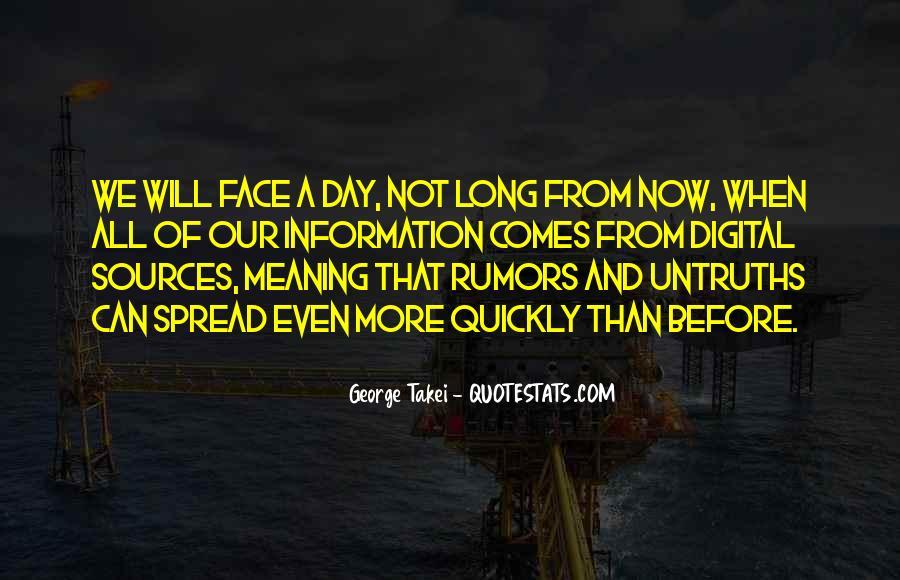 Spread Rumors Quotes #1051308