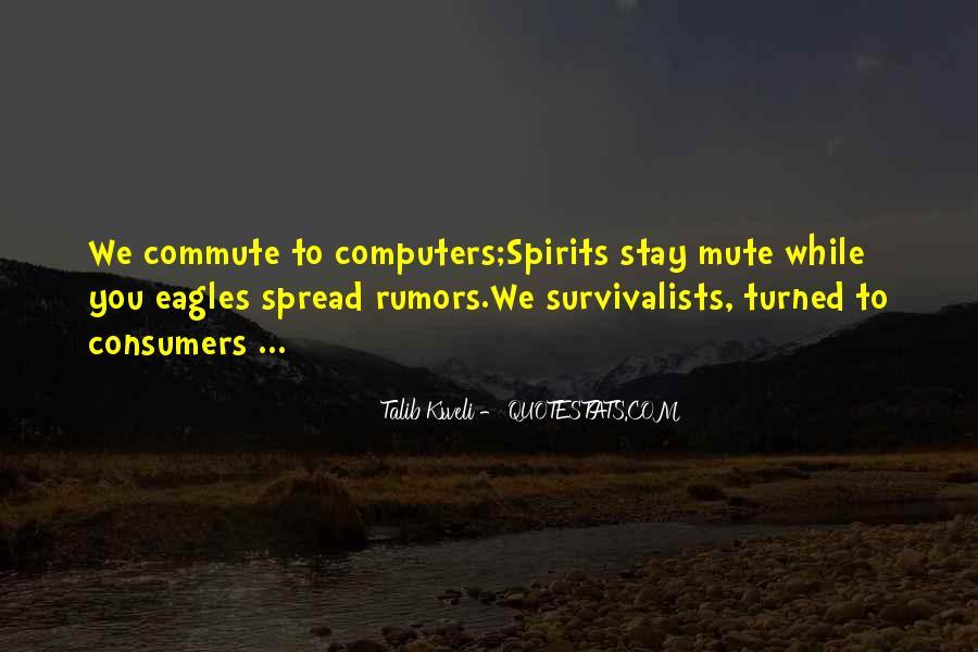 Spread Rumors Quotes #1715094