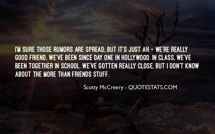 Spread Rumors Quotes #1822235