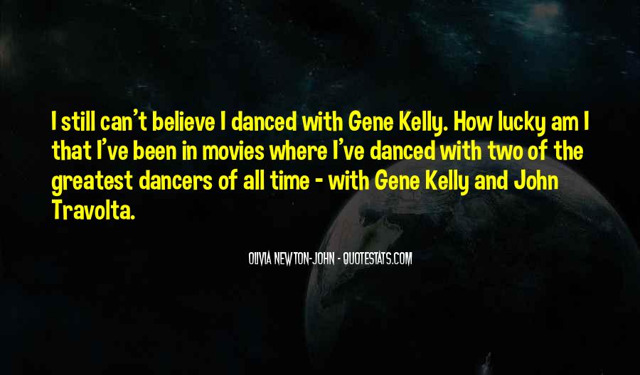 Quotes About Gene Kelly #1139705