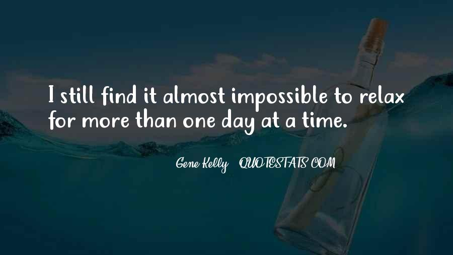 Quotes About Gene Kelly #1424280