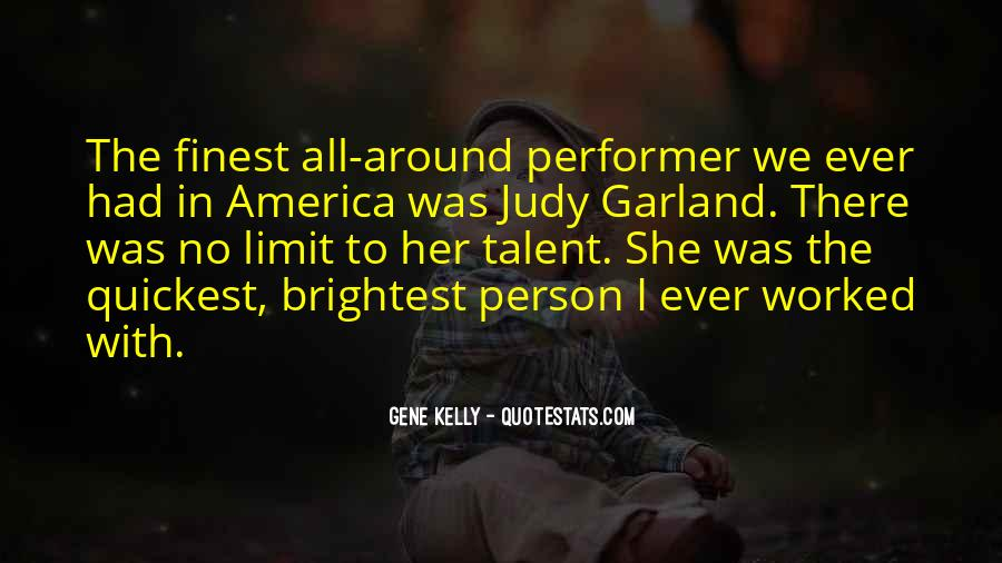 Quotes About Gene Kelly #1472741