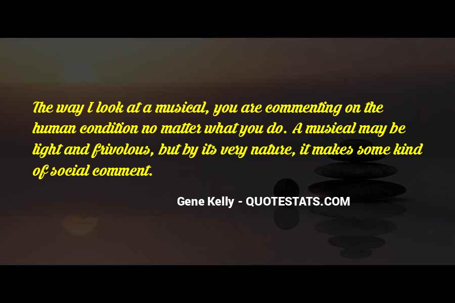 Quotes About Gene Kelly #1702369