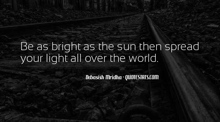 Spread The Light Quotes #1399357