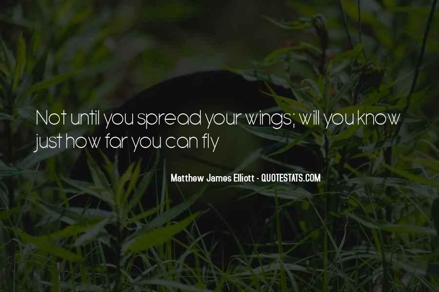 Spread Wings And Fly Quotes #1544887