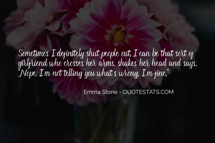 Quotes About Emma Stone #1183646