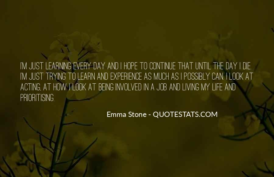 Quotes About Emma Stone #1409126