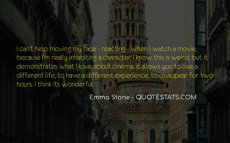 Quotes About Emma Stone #1460251
