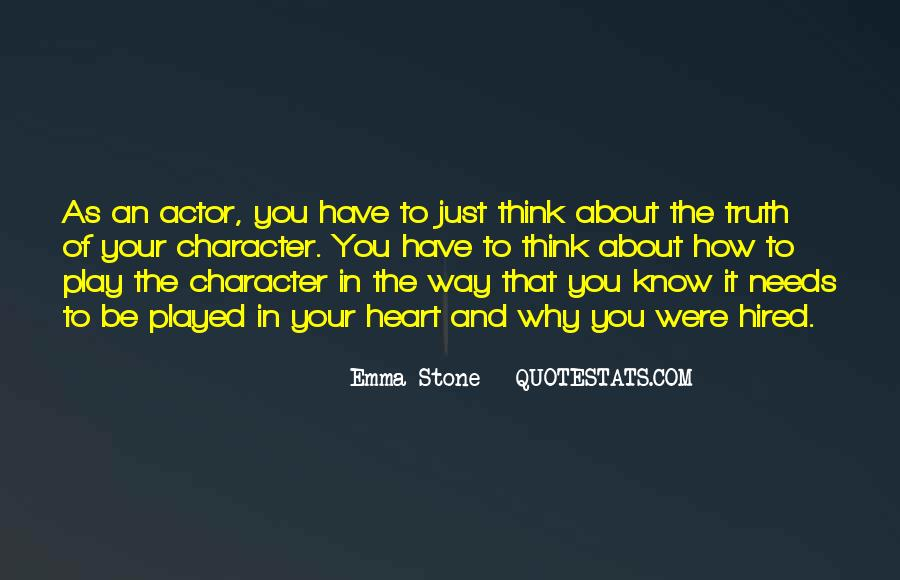 Quotes About Emma Stone #423431