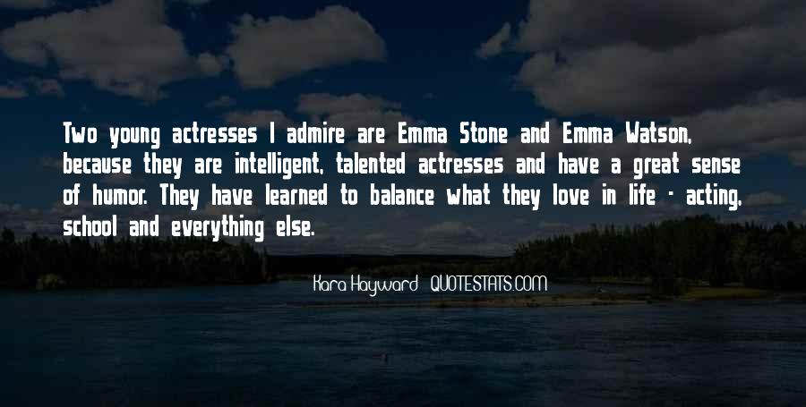 Quotes About Emma Stone #840032