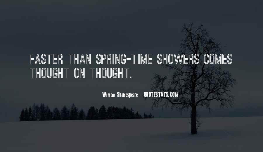 Spring Time Quotes #106376