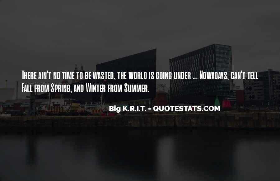 Spring Time Quotes #123908
