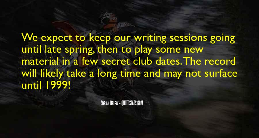 Spring Time Quotes #204017